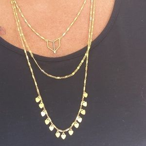 Triple tier necklace